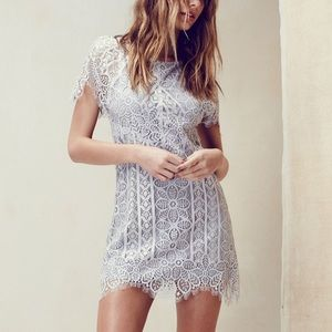 For Love and Lemons Lyla Lace Minidress